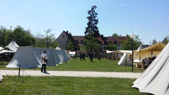 Mittelaltermarkt Ulm, Kloster Wiblingen, Sommer 2016