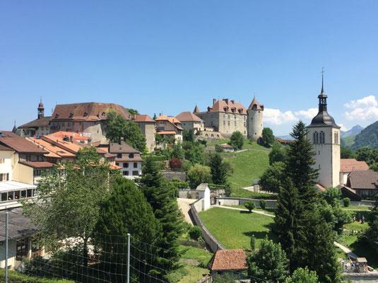 Schlossanlage von Greyerz