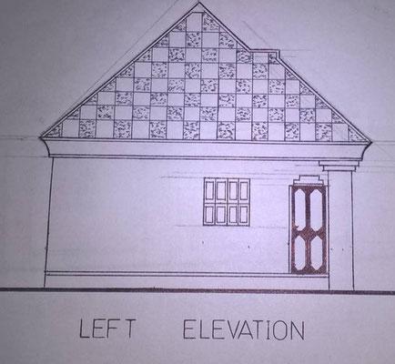 Linke Hausfassade