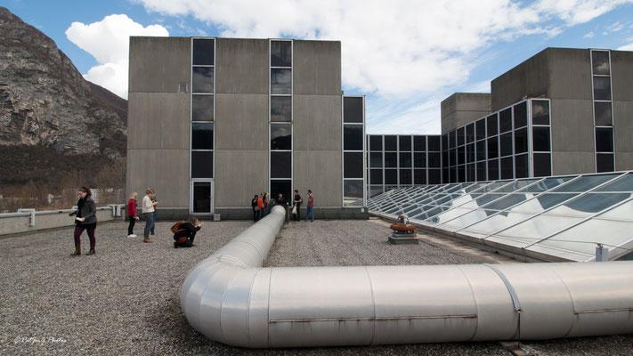 Synchrotron Grenoble - sur le toit
