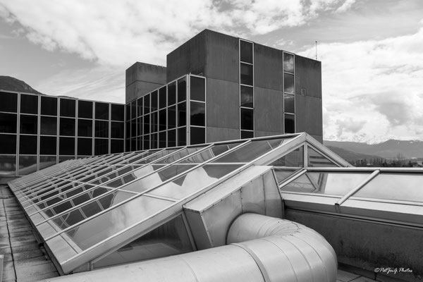 Synchrotron Grenoble - Architecture