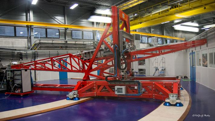 Synchrotron Grenoble - Le spectromètre géant