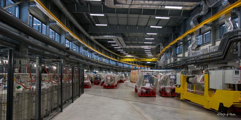 Synchrotron Grenoble - Préparation de la nouvelle ligne