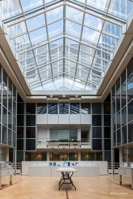 Synchrotron Grenoble - Le hall