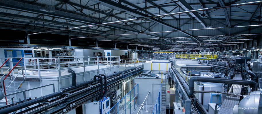 Synchrotron Grenoble - L'anneau