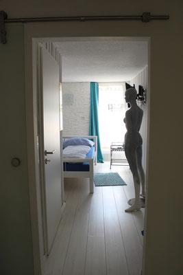 Blick ins Schlafzimmer...