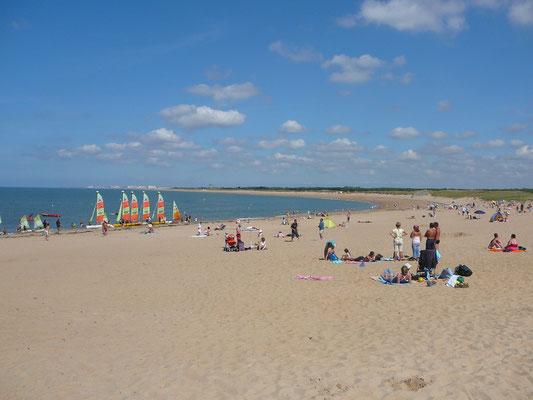 Strand bij Sion-sur-l'Ocean