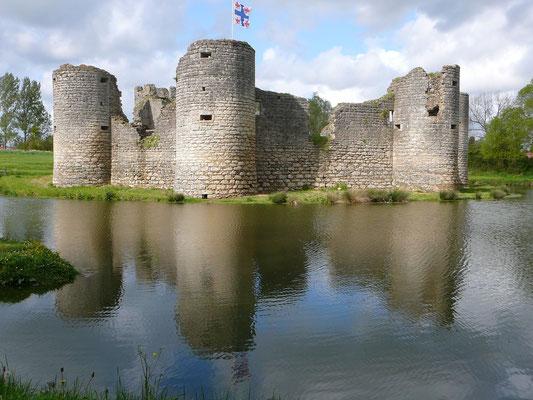 Fedodaal kasteel in Commequiers