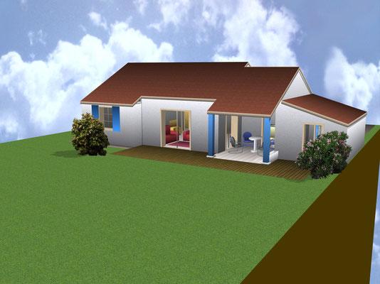 Achterzijde (3D-Architect)