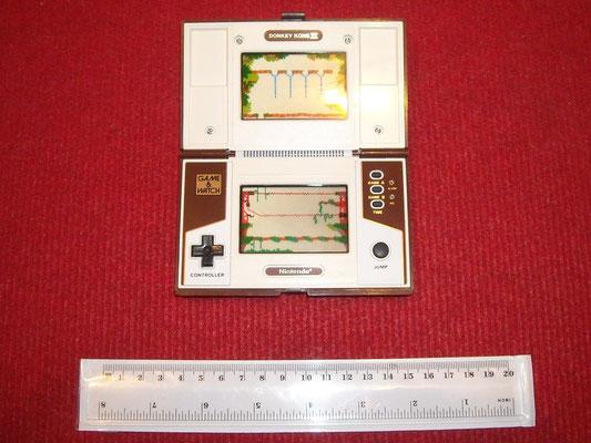 """Mi Game & Watch (versión Multi Screen) """"Donkey Kong II"""" abierta"""
