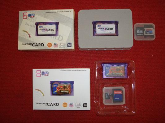 "Mis SuperCard MiniSD (""Original"" y ""Star Wars"") + Tarjetas MiniSD 2Gb"