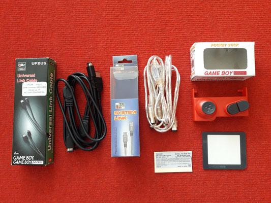 Accesorios extras de las Game Boy Pocket