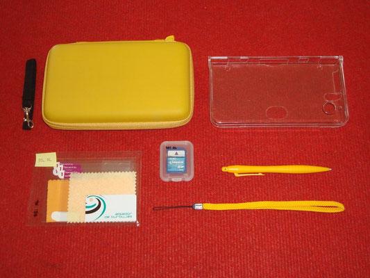 Accesorios extras de la Nintendo DSi XL