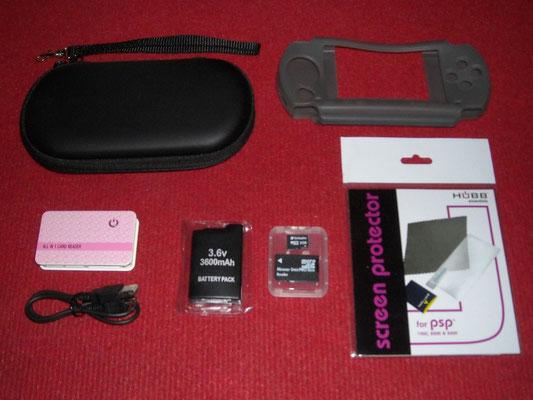 Accesorios extras de la Sony PSP