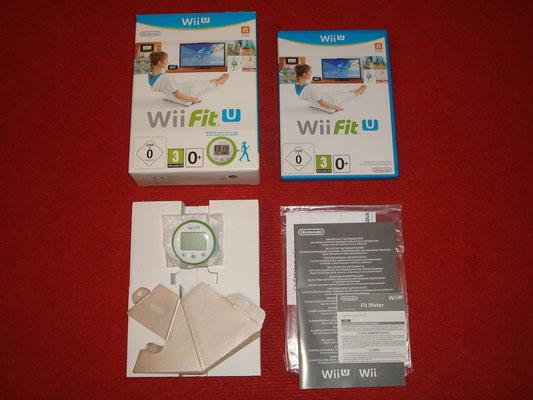 Mi videojuego: Wii Fit U + Fit Meter y Soporte Vertical (de cartón) para Wii U GamePad