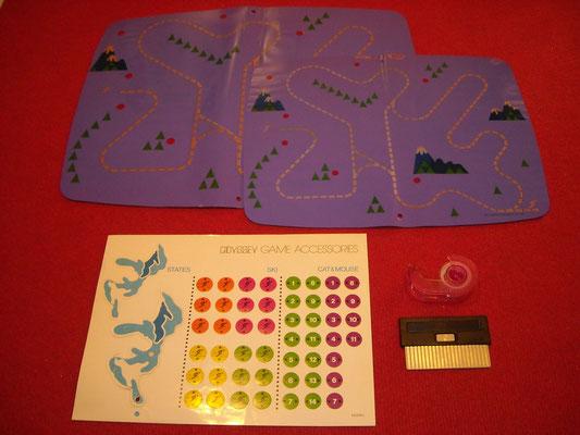 """Material para jugar al """"Ski"""""""