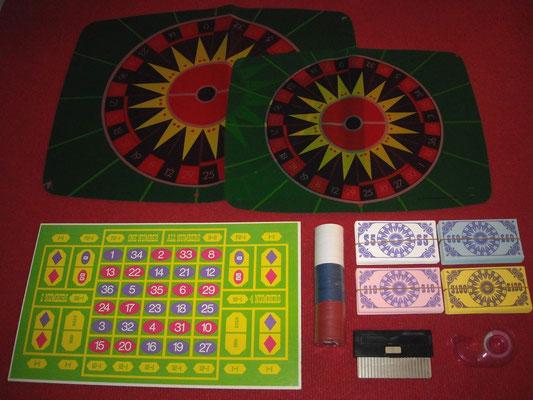 """Material para jugar al """"Roulette"""""""