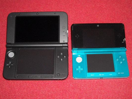 Comparativa entre la 3DS XL y la 3DS