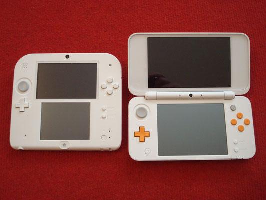 Comparativa Nintendo 2DS vs. Nintendo New 2DS XL