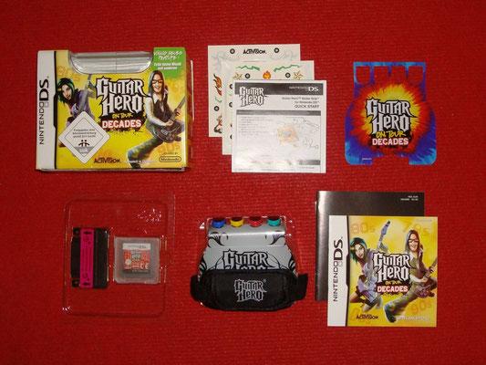 Mi videojuego: Guitar Hero: On Tour - Decades + Guitar Grip, Plektrum-Touchpen y Guitar Grip-Skin