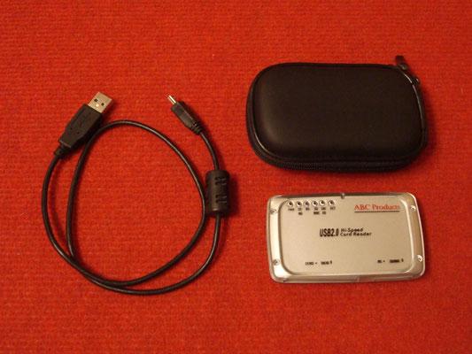 Lector de tarjetas SmartMedia para la GamePark GP32