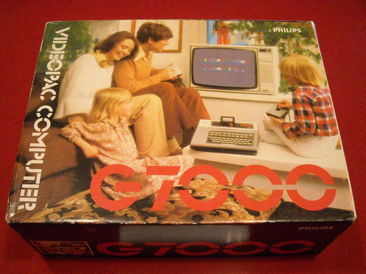 Caja de la Philips Videopac G7000