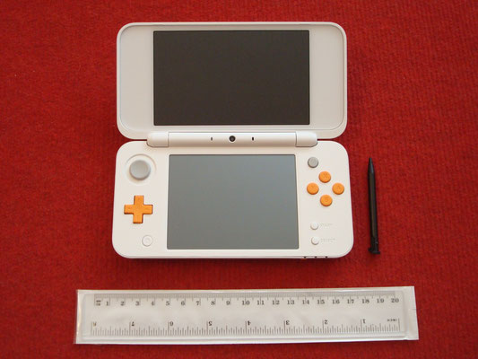 Mi Nintendo New 2DS XL abierta