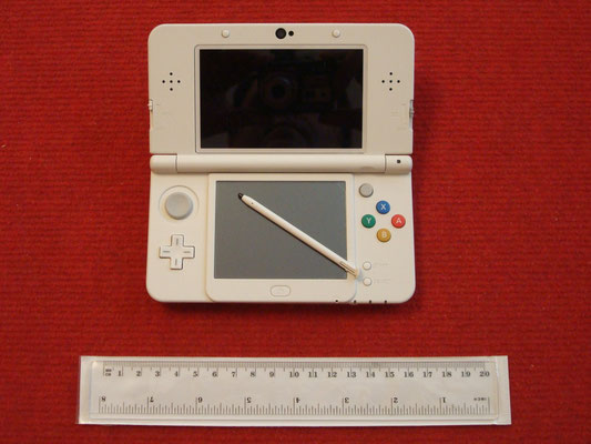 Mi Nintendo New 3DS abierta