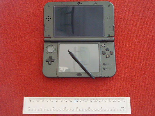 Mi Nintendo New 3DS XL abierta