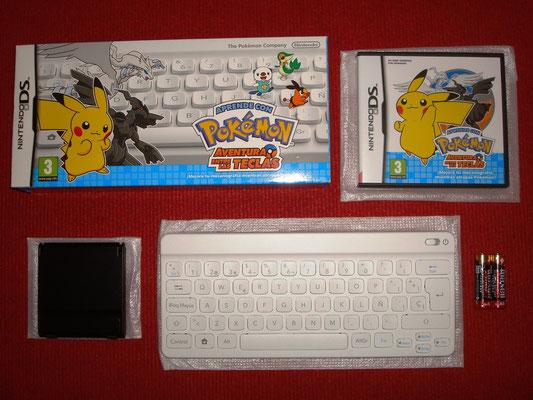 Mi videojuego: Aprende con Pokémon - Aventura entre las teclas + Teclado Bluetooth + Soporte DS