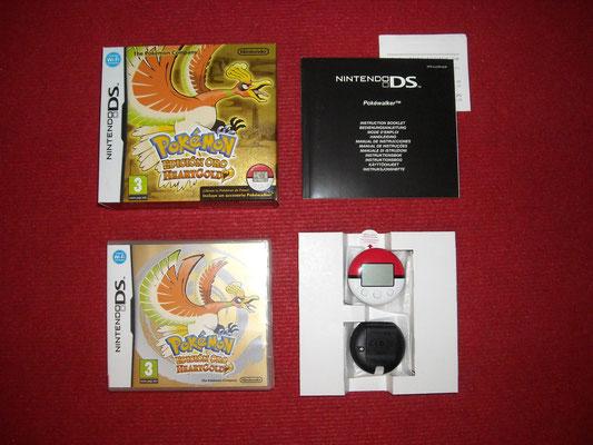 Mi videojuego: Pokémon Edición Oro + Pokewalker