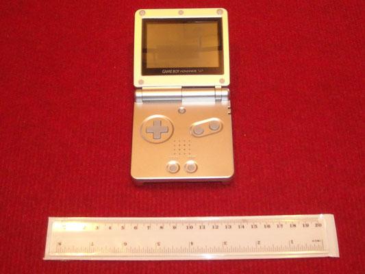 Mi Game Boy Advance SP abierta