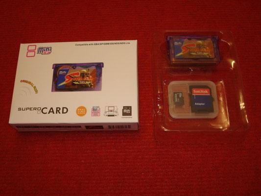 """Mi SuperCard MiniSD """"Star Wars"""" + Tarjeta MiniSD 2Gb"""