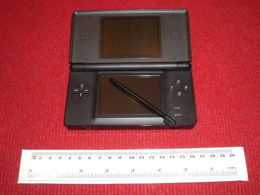 Mi Nintendo DS Lite (Black) abierta