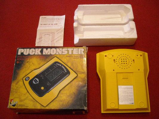 Contenido de la caja del Computer Games Limited Puck Monster
