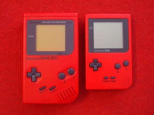 """Comparativa Game Boy (""""original"""") vs. Game Boy Pocket"""