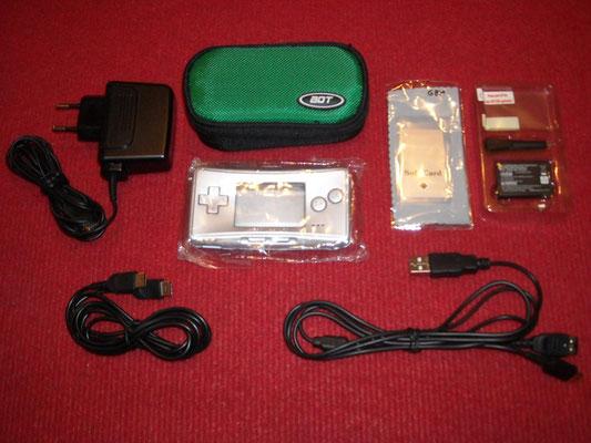 Accesorios extras de las Game Boy Micro