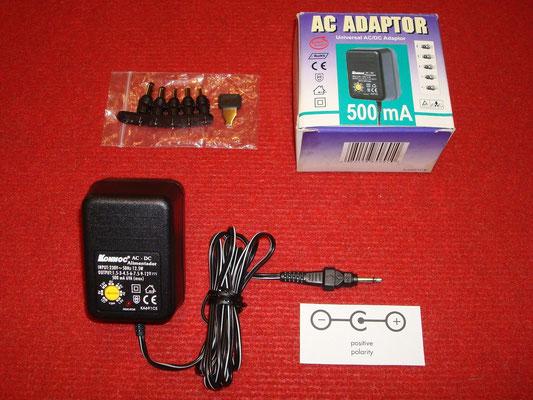 Accesorios extras: Transformador AC/DC Konnoc