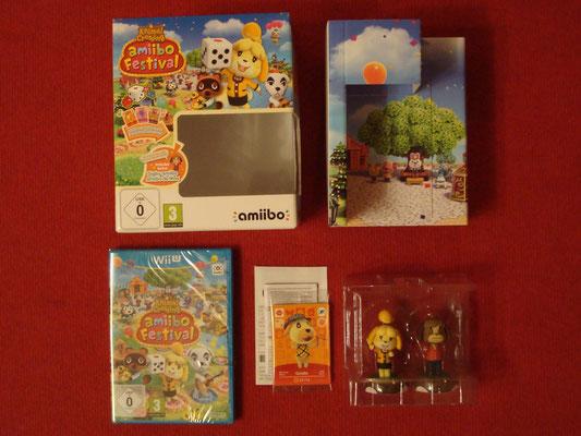 """Mi videojuego: Animal Crossing amiibo Festival + amiibos: """"Candrés"""" y """"Canela"""" de Animal Crossing Collection + 3 amiibo cards"""