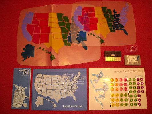 """Material para jugar al """"States"""""""