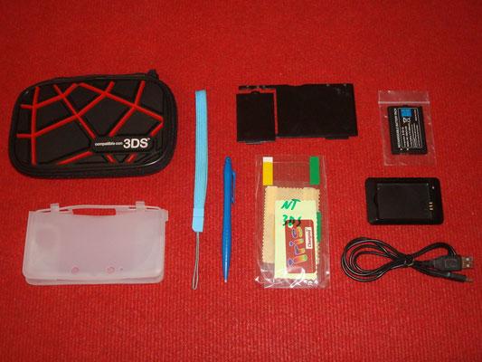 Accesorios extras de la Nintendo 3DS