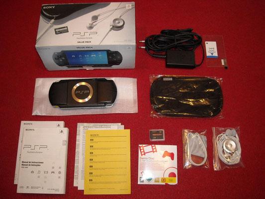 Contenido de la caja de la Sony PSP