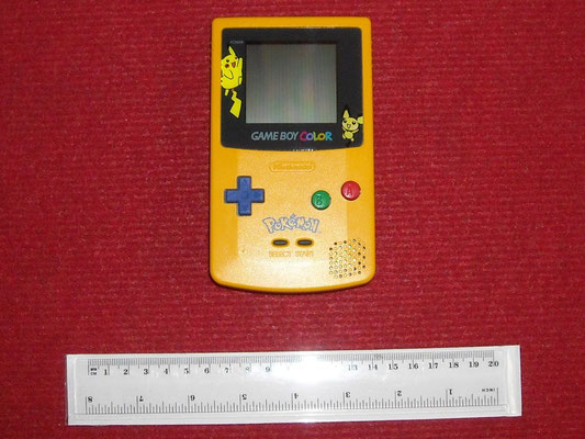 Mi Game Boy Color (Pokémon Special Edition)
