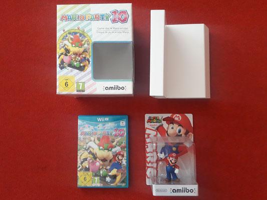 "Mi videojuego: Mario Party 10 + amiibo ""Mario"" de Super Mario Collection"