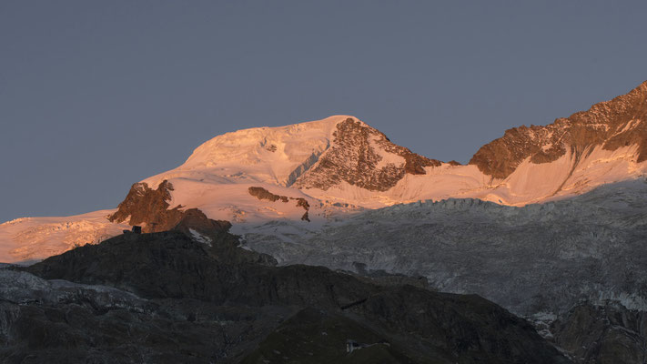 Sonnenaufgang über dem Alphubel