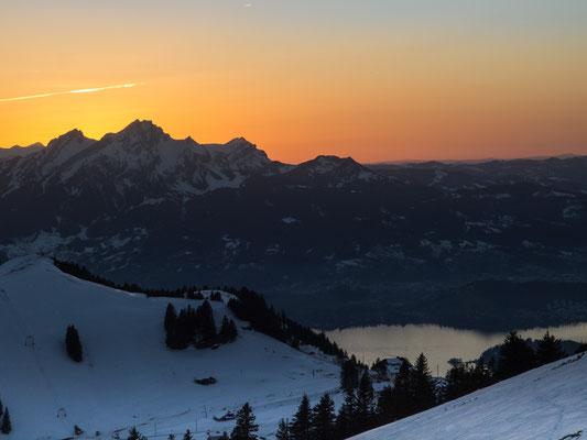 Bild-Nr. 1264756 / Sonnenuntergang auf der Rigi