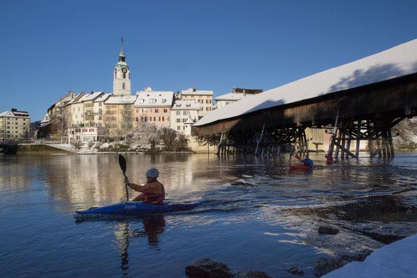 Winterfahrt der Kanuten