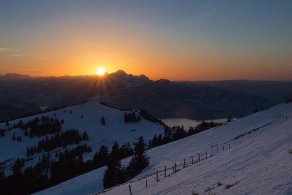 Bild-Nr. 1264747 / Sonnenuntergang auf der Rigi