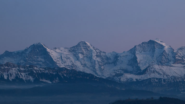 Eiger, Mönch und Jungfrau im Abendlicht / Bild-Nr. PC284155-4