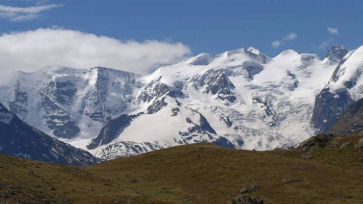 Blick von der Alp Languard